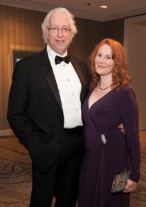 Goodman Artistic Director Robert Falls and Kat Moynihan-Falls