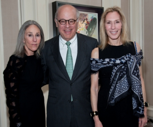 Helen Zell, King and Caryn Harris
