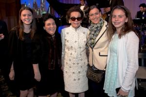 Lia Jimenez, Dawn Galvin Meiners, Mary Galvin, Tricia and Ariel Jimenez