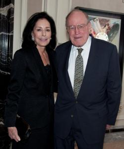Alexandra Nichols (MIC chair emerita) and John Nichols