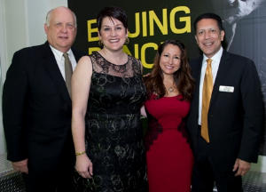 John and Dianne Kleber and Lisa and Joe Torres, gala co-chairs