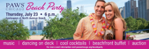 Don't miss PAWS' Beach Party on July 23!