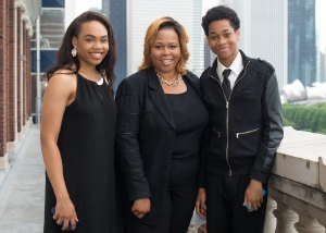 Dionne Williams and her cute family