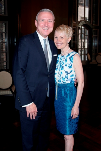 Zachary Lazar (Joffrey Ballet Board of directors president) and Anne Lazar.