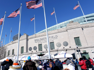 The Games will take place in Soldier Field