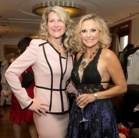 Cathy Bartholomay and Tina Weller