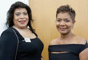 Diana Harris and Dr. Linda O'Bannon