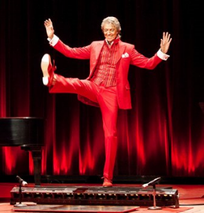 Tommy Tune performs.
