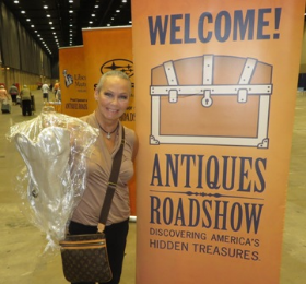 Candace Collins Jordan at Antiques Roadshow