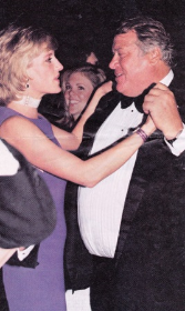 Princess Diana dancing with Chicago's own Michael Wilkie!