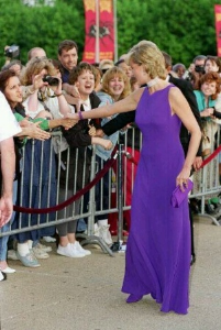 Princess Di wowing the crowds in Chicago