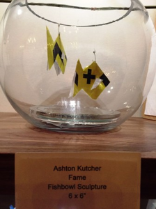 "Ashton Kutcher's ""Fame"" in a fishbowl"
