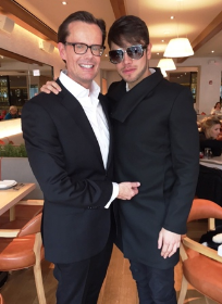 David Brandt and David G at Fig & Olive
