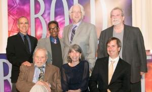 Henry Godinez, Chuck Smith, Robert Falls, Steve Scott, Brian Dennehy, Rebecca Gilman and Henry Wishcamper.