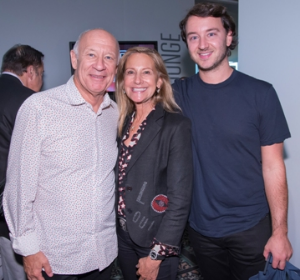 Larry, Marilyn and Adam Fields