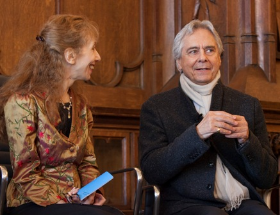 Hedy Weiss and John Neumeier