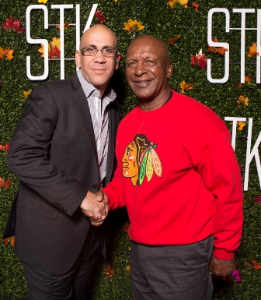 STK General Manager Adam Solomon and Illinois Secretary of State, Jesse White