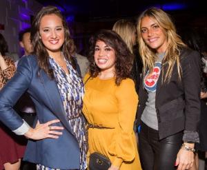 : B96's Showbiz Shelly, Minnie Jacobs, Stephanie Kezios