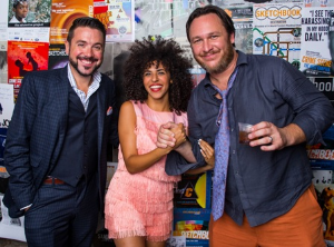 LA disco pop superstar Gavin Turek, Matthew Woodburn, Chop Shop/First Ward Events, and artistic director Anthony Moseley
