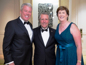 Dennis and Kathy O'Keefe with Gary Player