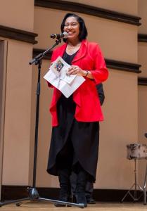Christine Taylor, Ravinia's director of REACH*TEACH*PLAY education programs