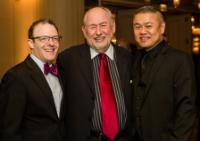 Managing director Christopher Manneli, artistic director emeritus Dennis Zacek and artistic director Chay Yew