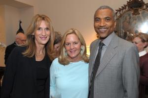 Joan Colmar, Leslie Hindman and Pierre Lockett