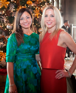Genine Shafer and Jennifer Lane (co- chairs of the Holiday Luncheon)