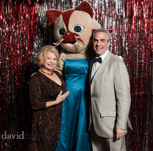 Celeb guests Kathy Garver and Paul Lisnek