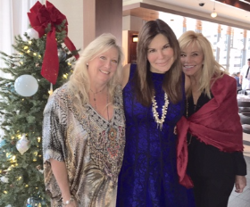 Luncheon hosts Michaela Parrillo, Dede Lubeznik and Jan Flanagan