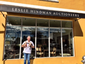 Visiting Leslie Hindman Auctioneers in West Palm/Palm Beach