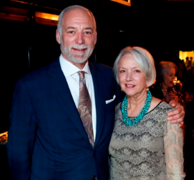 Kevin Evanish and wife Joan