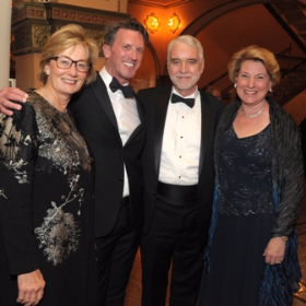 Pamela Strobel, Ashley Wheater (artistic director), Timothy and Roberta Killeen