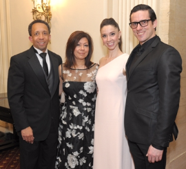 Jason and Yolanda Tyler, April Daley and Miguel Angel Blanco