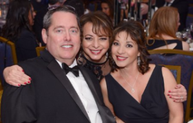 Todd Sherman, co-chair Maggie Murzanski and Sandy Gonzalez