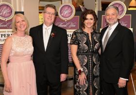 Susanne and Mark Frey (Pres/CEO AMITA Health & Alexian Bros. Health System) with Melanie and John Furlan