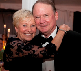 Nature Museum namesake Peggy Notebaert and husband Dick Notebaert