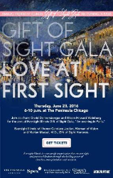 Gift of sight invite --cool from Mich Mag