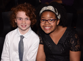 Aidan and Grace, Facets Summer Film Camp grads and aspiring filmmakers