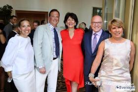Sharyl Mackey, Paul Iacono, Maria Pappas, Greg Hyder and Susan Ellefson