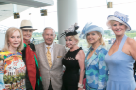 Cheryl Coleman, Hazel Barr, Dick Duchossois, Sherrill Bodine, Cookie Cohen and Kathy Piccone