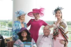Cookie Cohen, Eileen Howard-Weinberg, Susan Gohl, Sylvia and Kurt Muller