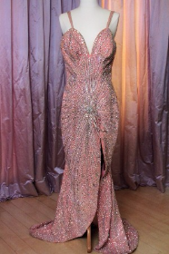 Gown hand-sewn and once worn by stripper Blaze Starr (in Zemeckis collection)