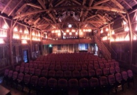 Dramatic interior of Vinegar Hill Music Theatre