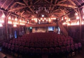 Dramatic interior of Vinegar Hill Music Theatre