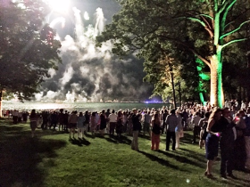 Fireworks rivaled Navy Pier's!