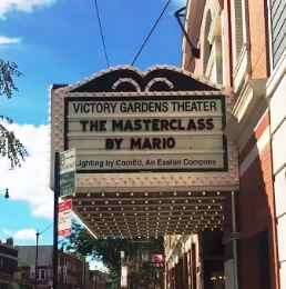 Victory Gardens Theater was packed with Mario fans!