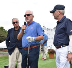 Jerry Lasky, Joe Maddon and Tom Dreesen