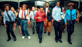 The Off the Street Club kids kept the crowd on their feet & took over the dance floor at Morgan's on Fulton