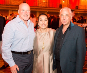Dance for Life founders Keith Elliot, Harriet Ross and Danny Kopelson